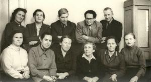 Преподаватели 1950-е гг.