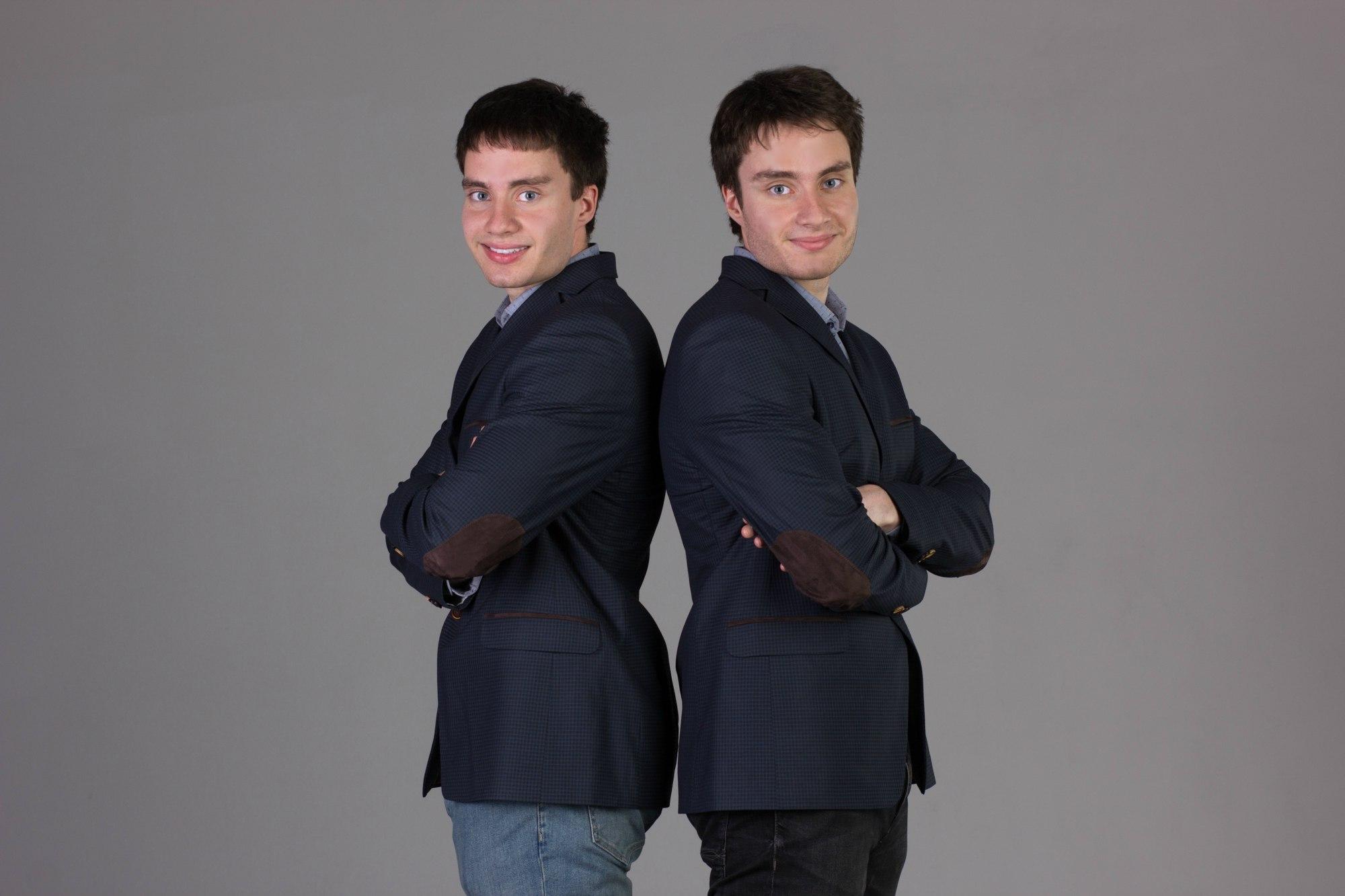 Братья Рубцовы (высветлить фон))