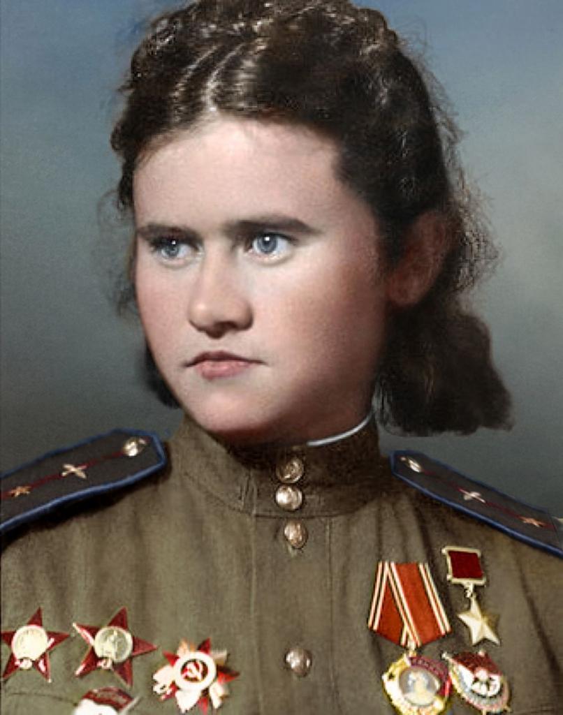 Евдокия Борисовна в 1944 году